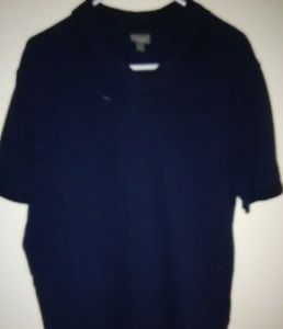 Other - Mens Merona navy polo shirt size L